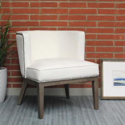 Picture of Boss Ava Accent Chair - White* D