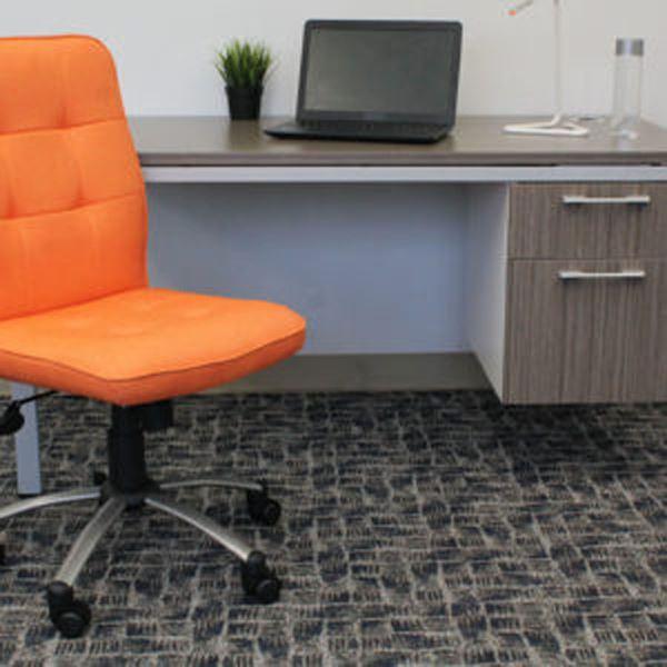 modern office chair orange d b330pm or presidential boss