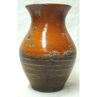 Imagen de Rustic Orange Vase
