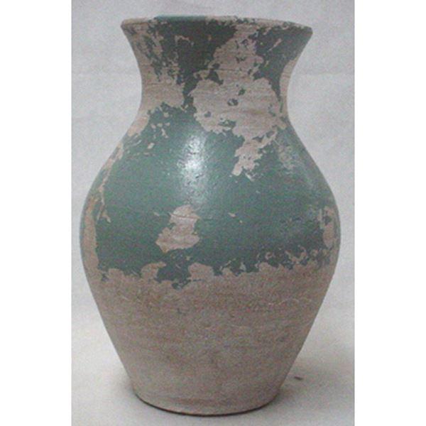 Rustic Soft Blue Vase Af 18 017 D F Concepts Promart Afw