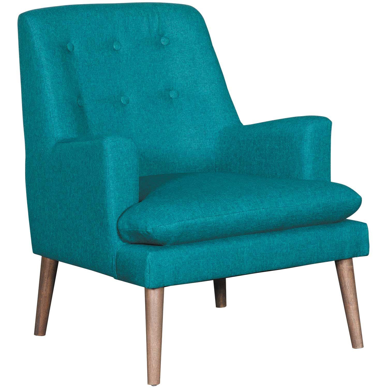Urban Teal Accent Chair B53 Yh35 Dark Leg Cambridge