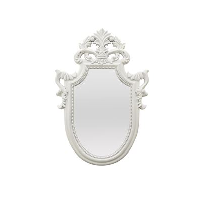 Picture of White Decorative Mirror