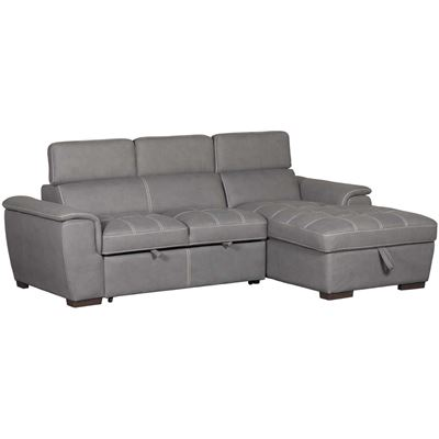 Imagen de Levi 2 Piece Sectional with Pull Out Bed
