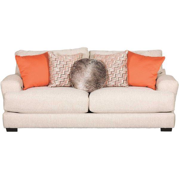 Charmant Ava Cashew Sofa With USB Charging Ports
