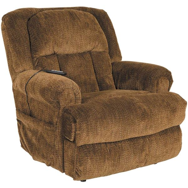 Burns Big Man Lay Flat Lift Recliner  sc 1 st  AFW & Burns Earth Brown Big Man Power Lift Lay Flat Recliner 0Q0-4847 ...