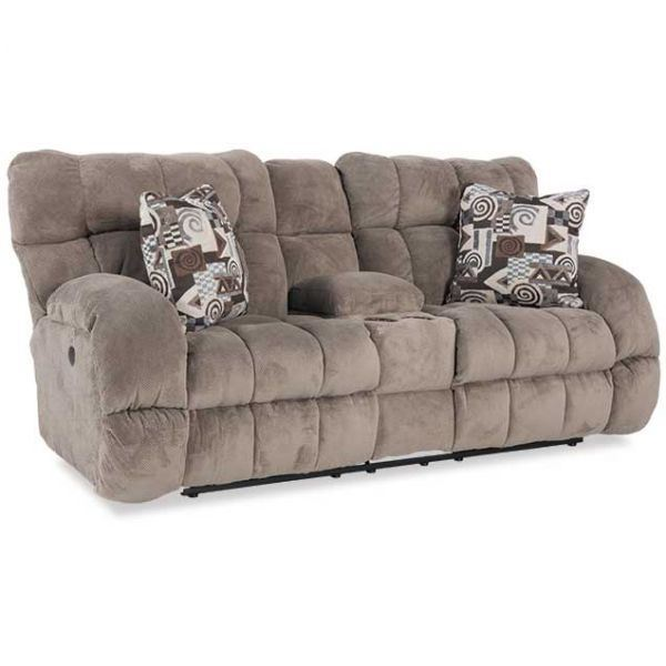 Leather Sofa Repairs Bromley: Lay Flat Power Reclining Console