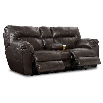 Picture of Nolan Power Recline Console Loveseat