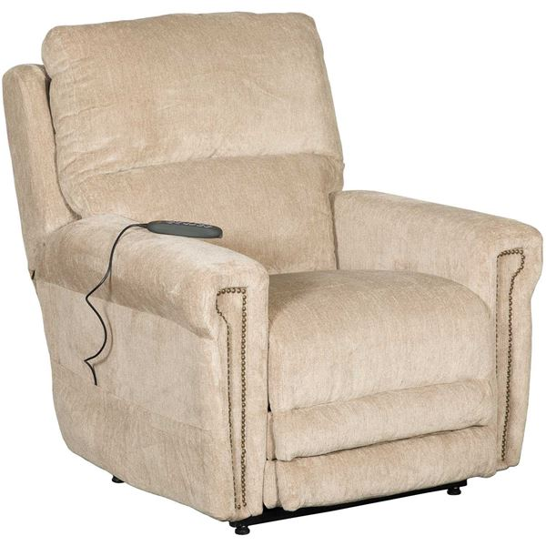 Warner Power Lift Chair With Adjustable Headrest And Lumbar Support 764862 Jackson Furniture