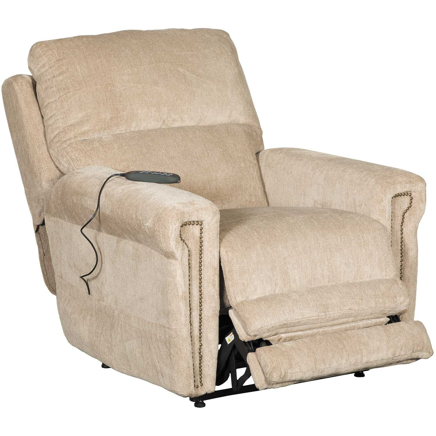 Warner Power Lift Chair With Adjustable Headrest And