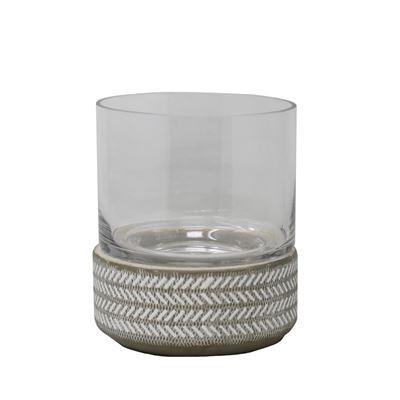 Imagen de Ceramic and Glass Hurricane