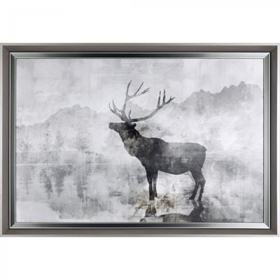 Picture of Framed Elk Shadow