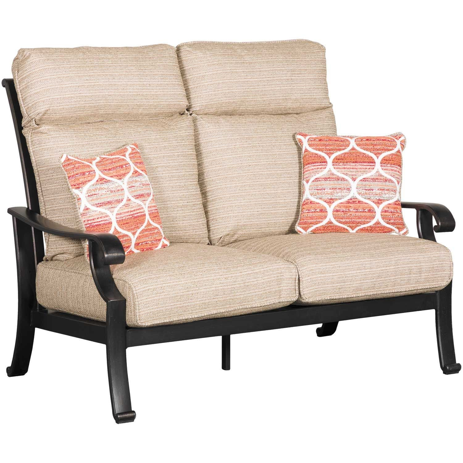Picture Of Chestnut Ridge Loveseat With Cushion