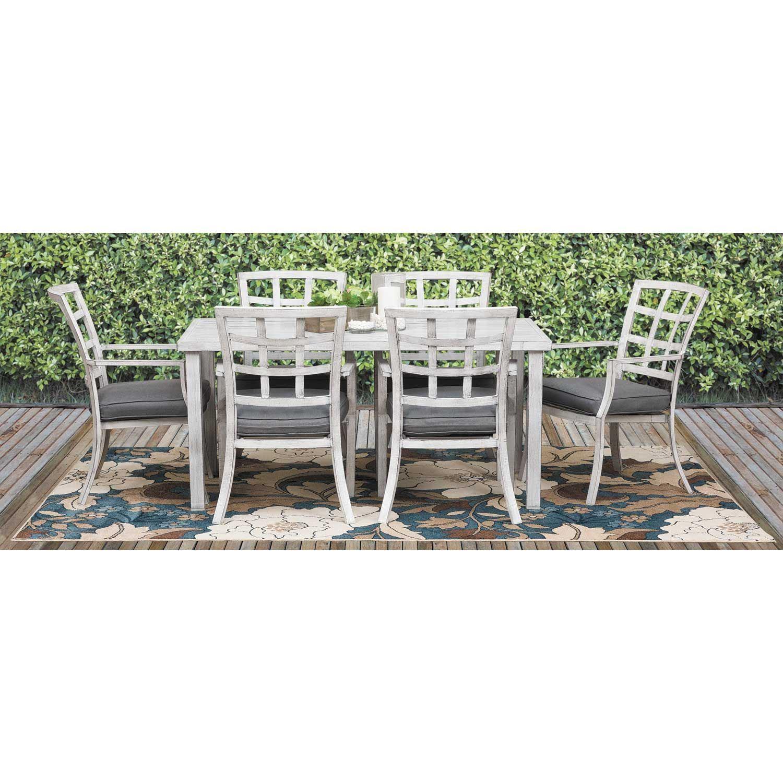 Outdoor Patio Furniture Near My Location: Magnolia 7 Piece Patio Dining Set