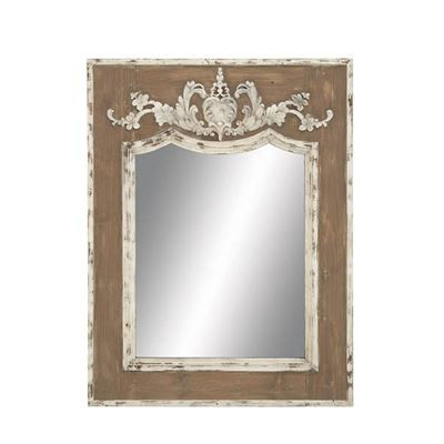 Picture of Wood Frame Wall Mirror