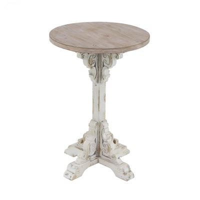 Imagen de Antique White Accent Table