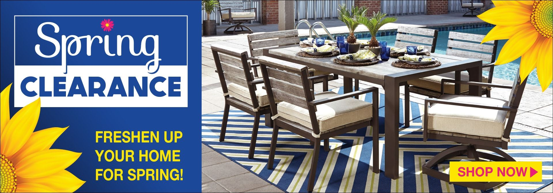 Spring Clearance Event