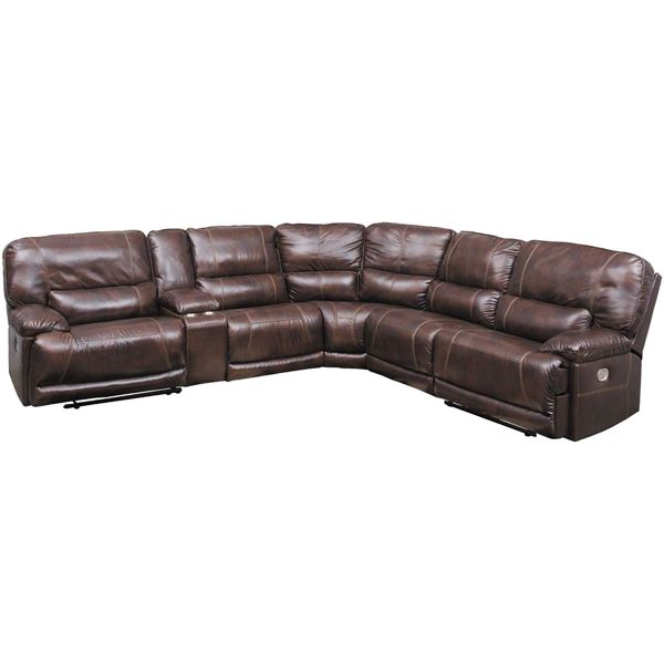 Picture of Killamey 6 Piece Power Reclining Sectional