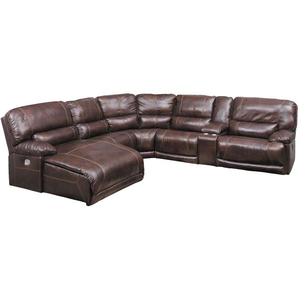 Picture of Killamey 6 Piece Power Reclining Sectional with LAF Chaise