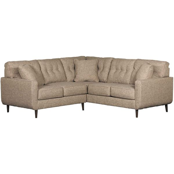 Picture of Chento Jute 2PC Sectional w/ RAF Sofa