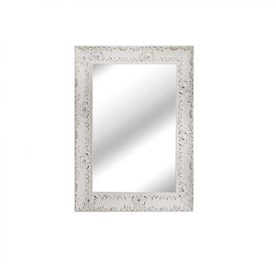 Imagen de White Distressed Wall Mirror