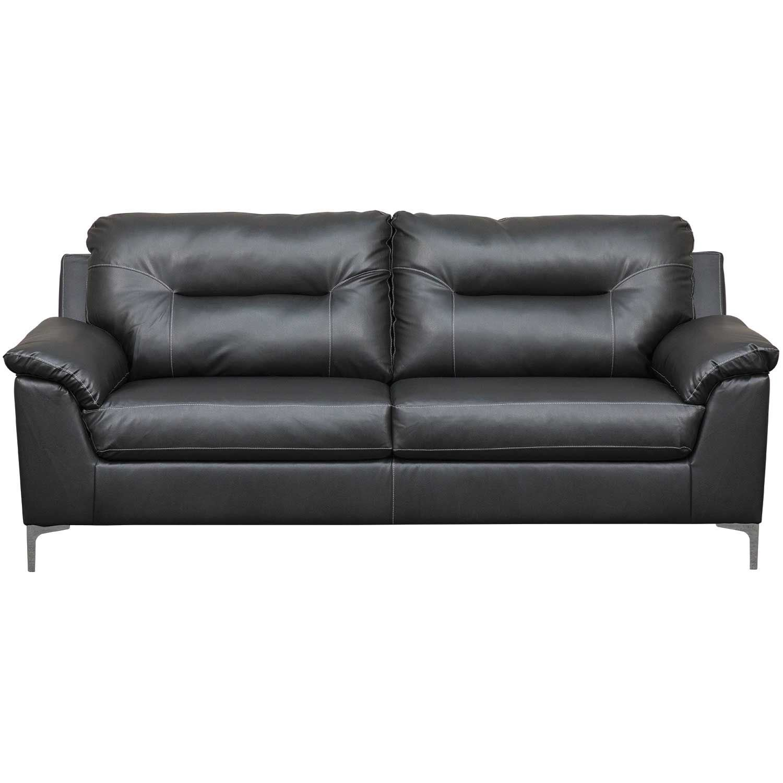 Picture Of Tensas Black Sofa