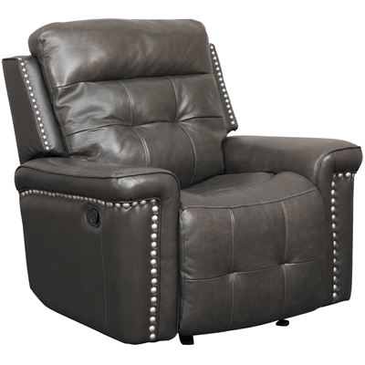 Picture of Kenzie Leather Glider Recliner