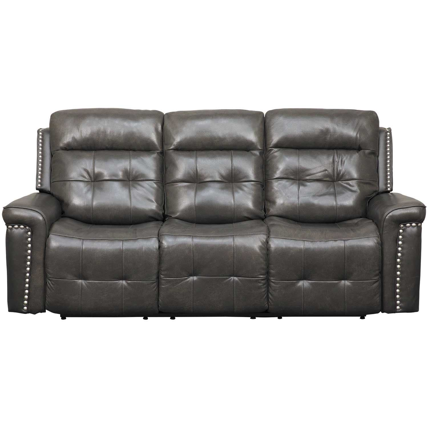 Picture Of Kenzie Leather Reclining Sofa