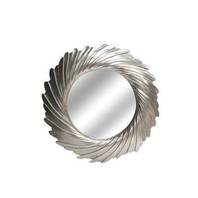 Imagen de Silver Twist Round Mirror