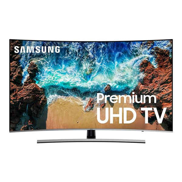 Picture of 65-Inch Class Curved 4K Smart Ultra High Definition LED TV