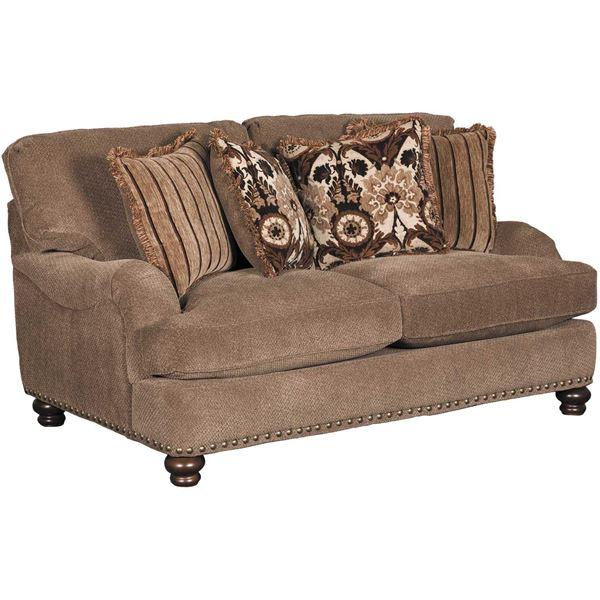 Flexsteel Everly Sofa: Prodigy Mink Loveseat C-8012