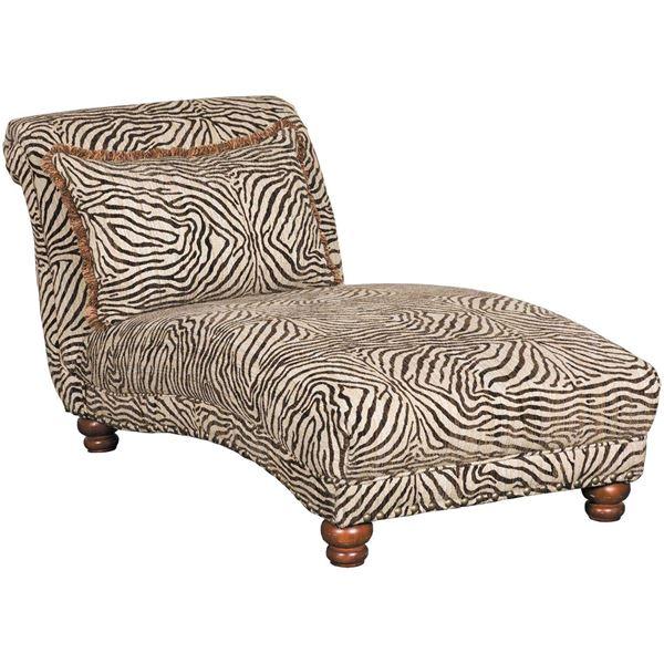 Prodigy Zebra Chaise C-8015