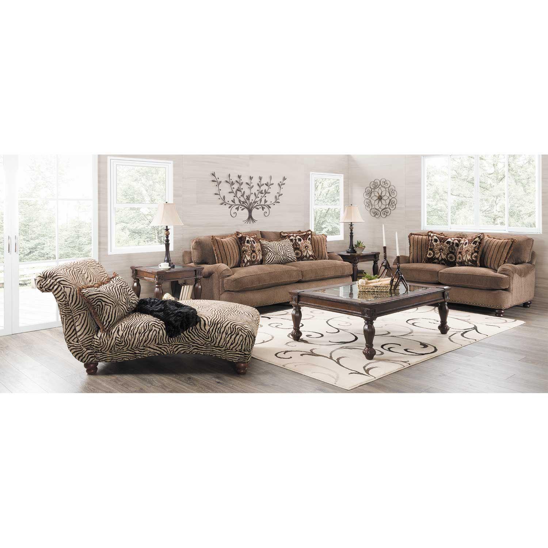 Prodigy zebra chaise c 8015 corinthian furniture afw for Chaise zebre
