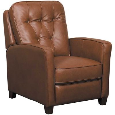 Picture of Quinn Umber Leather Push Back Recliner