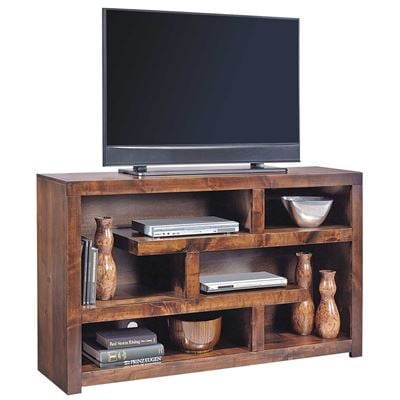 Picture of 60-Inch Alder Open TV Console