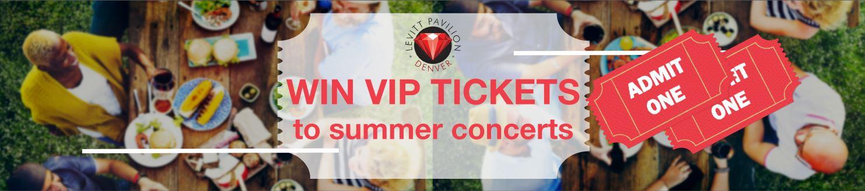 Levitt Pavilion Summer Concert Sweepstakes
