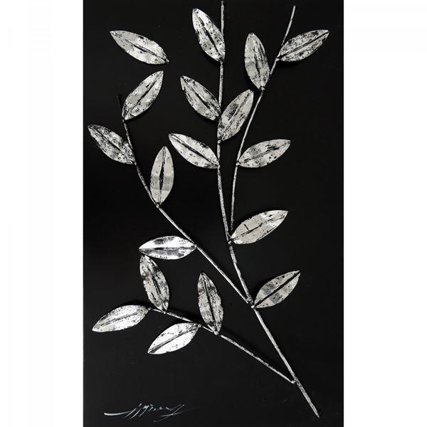 Cut Leaves Metal Wall Decor   R586-1-0 CP4   FREE CLOUD ARTS CO   AFW
