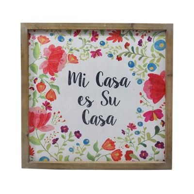 Picture of Mi Casa Es Su Casa Wall Decor