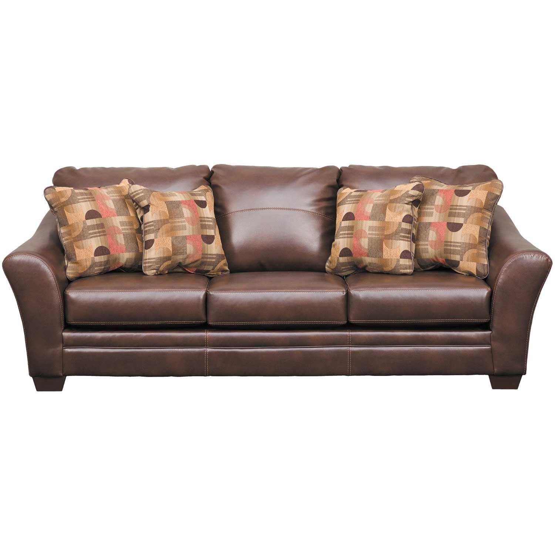 Picture Of Del Rio Bonded Leather Sofa
