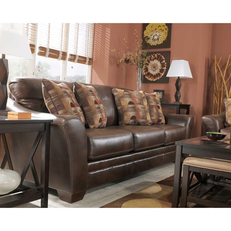 Del Rio Bonded Leather Sofa 3920038 Ashley Furniture Afw