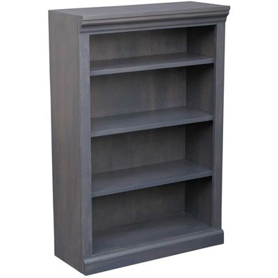 Picture of Platinum Grey Bookcase, 3 Shelf