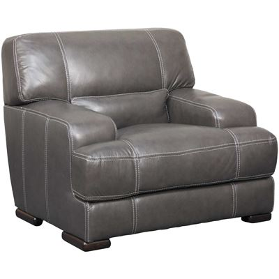 Picture of Rider Charcoal Leather Chair