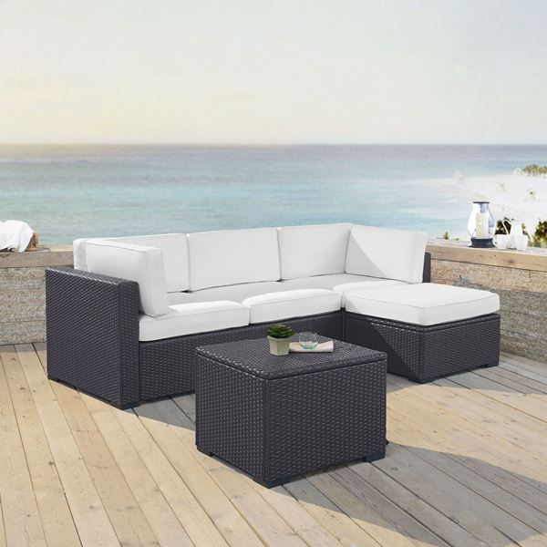 Picture of BISCAYNE SOFA CHAISE WHIT