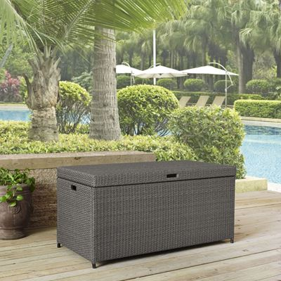 Imagen de PALM HARBOR OUTDOOR WICKER STORAGE BIN