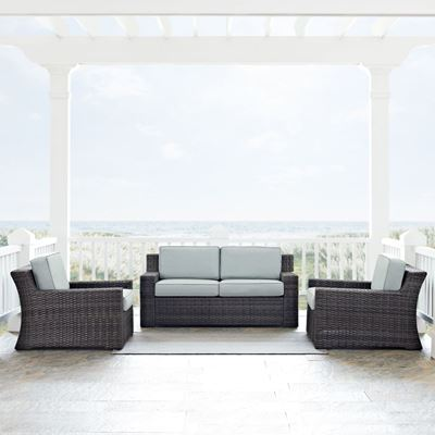 Imagen de BEAUFORT 3 PC OUTDOOR SET