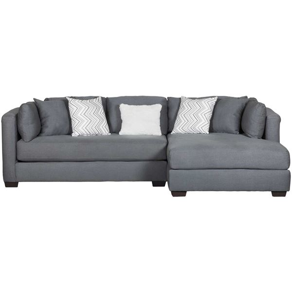 Parker 2 Piece With RAF Chaise Sectional