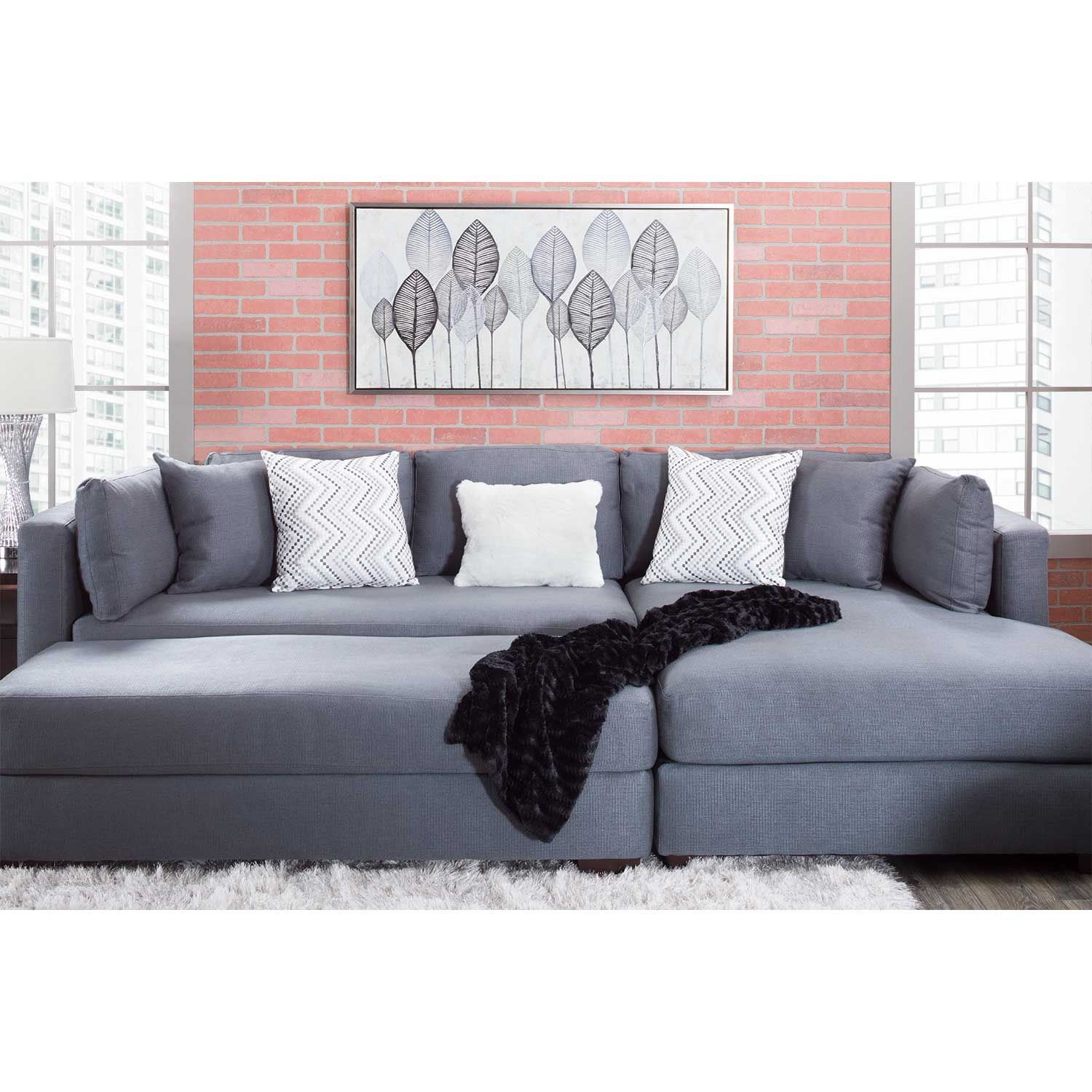 Parker 2 Piece With Raf Chaise Sectional 5510 5518