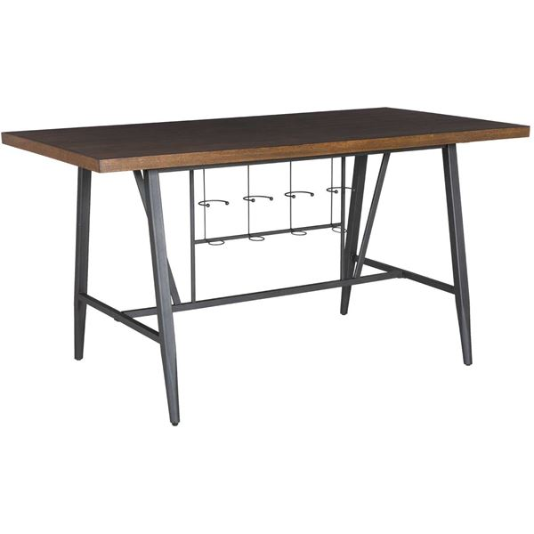 TwoTone Counter Height Dining Table T Crown Mark AFW - Counter height table for two