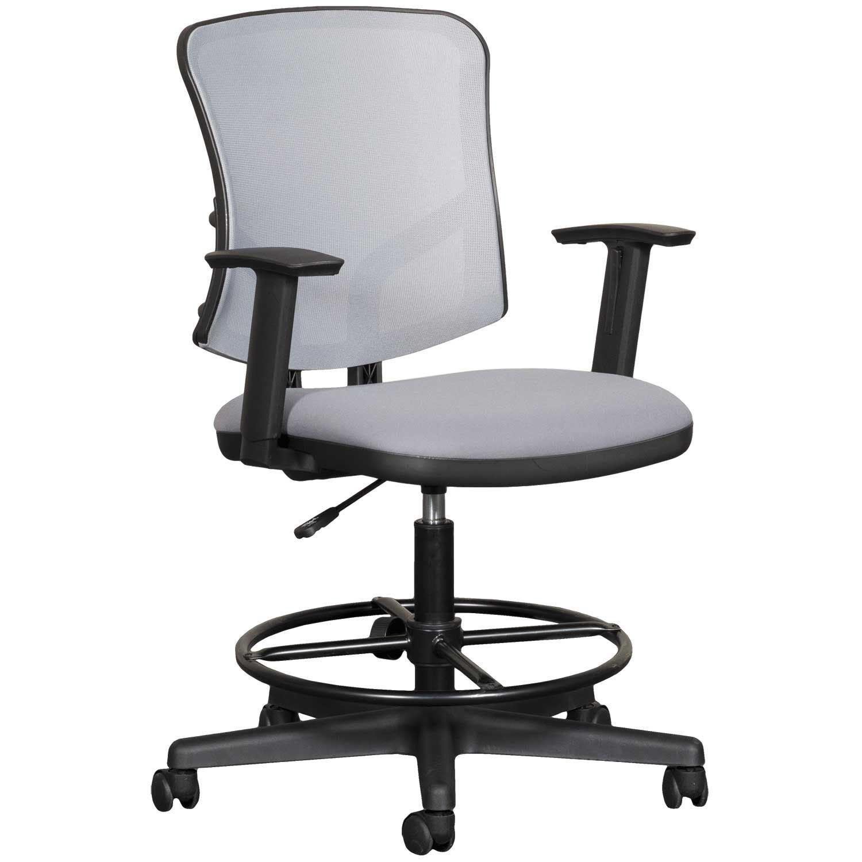 Gray Mesh Office Chair