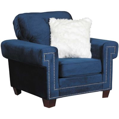 Picture of Ascot Navy Chair