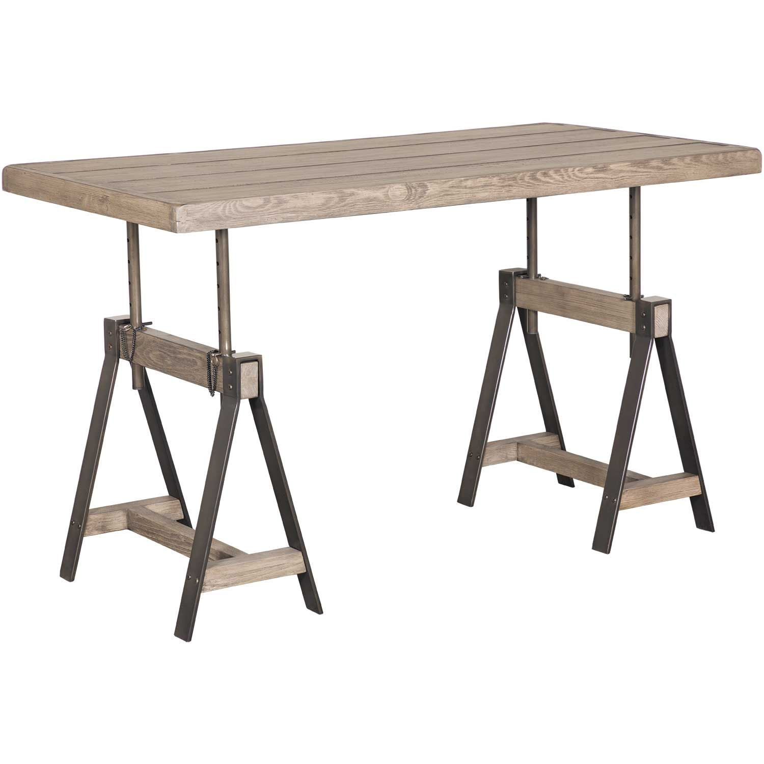 Picture of camden adjustable height table desk grey